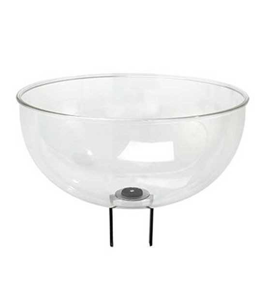 Présentoir contenant demi-boule