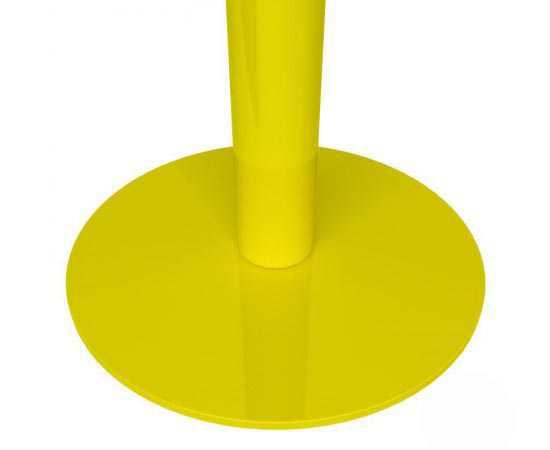 Poteau de guidage jaune à base lestée 11kg