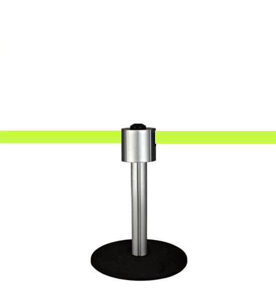 Storetrac Mini - Aluminium - 12m - Extra longue sangle XXL jaune fluorescent