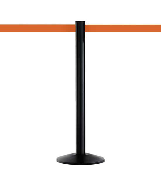 Guide file à sangle 5cm, noir, Extend, sangle orange 370cm