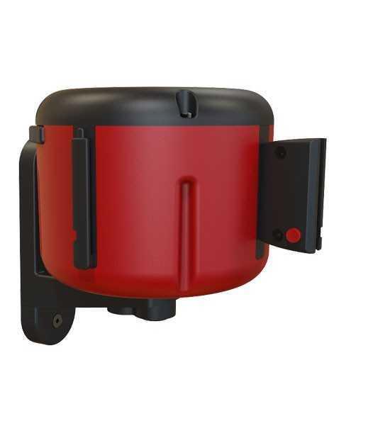Wandkassette mit Gurtband 7 oder 10m - Rot