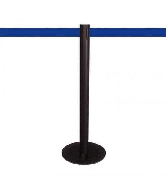 Poteau aluminium MASTER BLACK (KD), sangle bleue