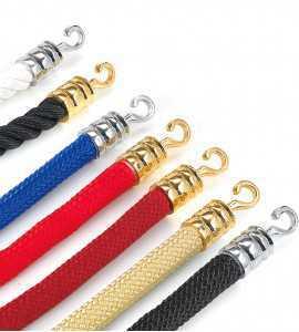 Corde tressée avec crochets