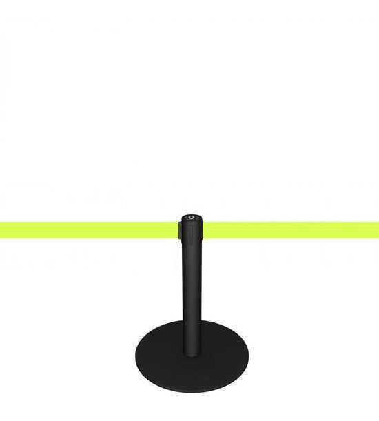 Mini Personenleitsystem (schwarz)