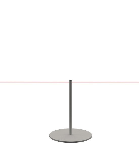 "Poteau de guidage musée ""Line"""
