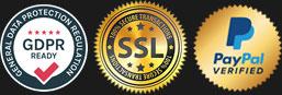 Transactions sécurisées, GPDR,...